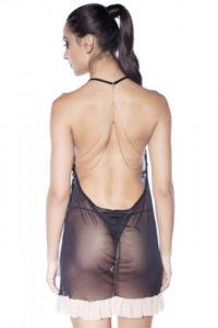 Camisola com detalhe costas em corrente costas